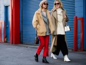 """صور.. الـstreet style الخاص بأسبوع الموضة فى نيويورك لخريف 2018 """"كتالوج"""" مجانى لتعليم النساء كيفية تنسيق ملابسهن.. ويساهم فى تحويلهن لأيقونات للموضة والأناقة.. ويقدم تصفيفات الشعر الـsimple"""