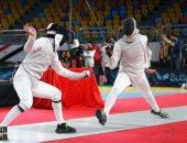 فيديو وصور.. انطلاق البطولة العربية للسلاح باستاد القاهرة