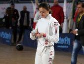 عهد ناصف ومريم عامر يتأهلان لنهائى البطولة العربية لسيف المبارزة