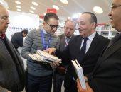 وزير الثقافة المغربي يزور جناح مجلس حكماء المسلمين بمعرض الدار البيضاء للكتاب