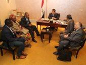 خالد عبد الغفار يعقد سلسة اجتماعات مع وزراء التعليم العالى الأفارقة