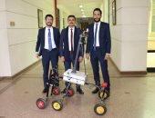 جامعة أكتوبر للعلوم تناقش مشروعات تخرج الطلاب.. و68 مشروعا لطلاب الهندسة