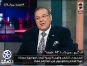 حسن راتب: يجب أن نحنى الرأس للسيسى صاحب القرار الصعب بالعملية سيناء 2018 (فيديو)