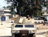 القوات المسلحة: مقتل 3 تكفيريين وتدمير 68 هدفا إرهابيا بعملية سيناء 2018