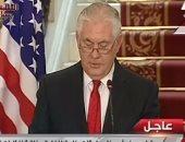 وزير الخارجية الأمريكى: ترامب لا يدعو لأى تغيير بالأماكن المقدسة وحدود القدس