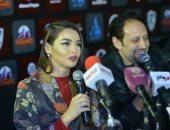 """فيديو وصور.. """"جوهرة"""": أعشق أكل اللحمة فى مصر وبحب الرقص على""""لولا الملامة"""""""