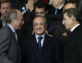 رئيس فرنسا الأسبق يؤازر سان جيرمان أمام ريال مدريد فى دورى الأبطال