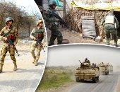 تدمير سيارة مفخخة قبل استهدافها القوات بشمال سيناء