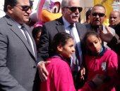 محافظ جنوب سيناء يساهم بـ7 آلاف جنيه فى حفل ختام أنشطة المدرسة الفكرية