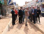 محافظ جنوب سيناء: دعم قطاع الطرق لرصف الشوارع بـ 154.3 مليون جنيه.. صور