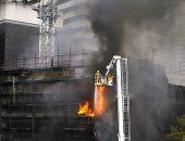 الحماية المدنية بالقليوبية تسيطر على حريق بمصنع فى العبور دون إصابات