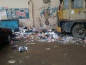 صور.. انتشار القمامة بمدخل مدينة دمنهور فى البحيرة