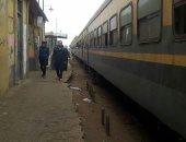 """السكة الحديد تنفى نشوب حريق بقطار المنصورة: """"مجرد دخنة كثيفة"""""""