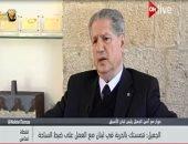 """رئيس لبنان الأسبق لـ""""ON live"""": السيسى لعب دوراً مهماً فى تجاوز أزمة الحريرى"""