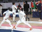 محمد عامر يتأهل لدور الـ64 فى بطولة العالم للسلاح بالصين