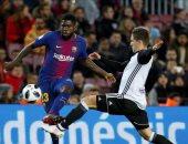 فيديو.. أومتيتى يضيف هدف برشلونة الثانى أمام فالنسيا بالدورى الإسبانى