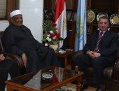 وكيل الأزهر يلتقى محافظ كفر الشيخ ويتفقدان فرع بيت العائلة المصرية