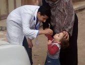 تطعيم 38 ألفا و967 طفلا ضد شلل الأطفال باليوم الأول فى بورسعيد