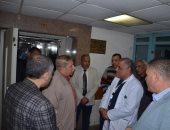 محافظ الإسماعيلية فى زيارة مفاجئة للمستشفى العام ليلا