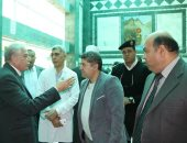 """محافظ جنوب سيناء يتقدم بالشكر لـ""""مميش"""" على دعمه مستشفى طور سيناء"""