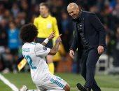 مارسيلو يغيب عن مواجهة باريس سان جيرمان بسبب الإصابة