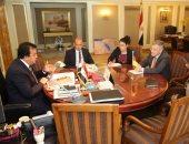 وزير التعليم العالى يبحث التعاون فى المجالات التعليمية مع السفير الألمانى