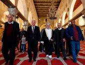 صور.. الوزير العُمانى يوسف بن علوى يزور المسجد الأقصى المبارك