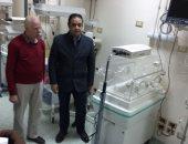"""النائب علاء عابد يتفقد مستشفى الصف استعدادا لافتتاحها الاثنين المقبل """"صور"""""""