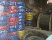 ضبط مديرى مخازن قبل ترويجهما آلاف القطع من أدوات الكهرباء بعابدين.. صور