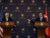 تيلرسون: ندرك حقوق تركيا فى تأمين حدودها وندعوها لضبط النفس بعفرين(صور)