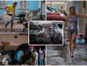 خسائر كبيرة بسبب الفيضانات فى مدينة ريو دى جانيرو بالبرازيل