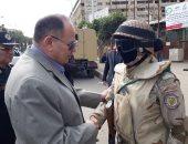 صور.. مدير أمن الجيزة يتفقد المنطقة الأثرية بصحبة مدير شرطة السياحة