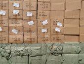 صور.. شرطة محور قناة السويس تضبط 104 آلاف مسدس خرز مهربة بميناء السخنة