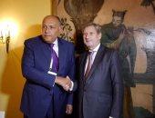 وزير الخارجية يلتقى مفوض الاتحاد الأوروبى لسياسة الجوار فى ميونخ