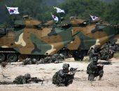 صور.. تدريبات عسكرية بين كوريا الجنوبية والولايات المتحدة الأمريكية