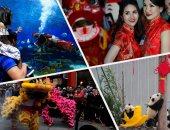 زينة وفن ولعب فى احتفالات السنة القمرية حول العالم