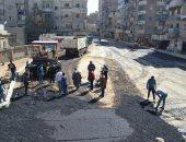 محافظ السويس يتفقد مراحل رصف وتطوير شارع أحمد عرابى