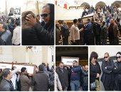 تشييع جنازة الناقد على أبو شادى من مسجد الصديق بمساكن شيراتون