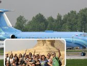 """شركة """"سيريوس آيرو"""" الروسية تكشف تفاصيل إتمام أول رحلة تجارية بين موسكو والقاهرة.. طائرات الشركة تحصل على تصريح للمرة الأولى عقب عودة الطيران.. ومسئول روسى: يمكن لشركات السياحة بدء بيع الجولات"""