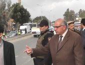 مدير أمن القليوبية يقود حملة مرورية بالخانكة