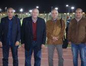 صور.. تفاصيل جلسة طلعت يوسف ورئيس المقاصة مع اللاعبين