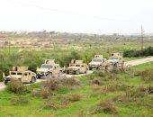 القوات المسلحة: القضاء على 4 تكفيريين شديدى الخطورة فى العملية سيناء 2018