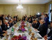 """صور.. وزير الخارجية الألمانى: الحل للأزمتين السورية واليمنية """"سياسى"""""""
