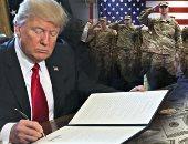 دونالد ترامب: ننفق على جيشنا أكثر من أى دولة على الإطلاق