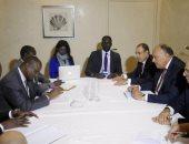 """وزير الخارجية يشارك فى غداء عمل حول """"تنمية أفريقيا"""" على هامش مؤتمر ميونخ"""