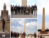 افتتاح أعمال تطوير متحف مسلة سنوسرت الأول بالمطرية