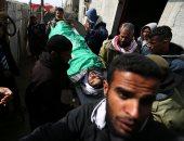 تشييع جثامين شباب فلسطينى بعد استشهادهم برصاص الاحتلال الإسرائيلى