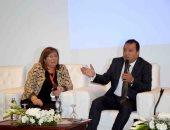 """صور.. المؤتمر السنوى الرابع لجمعية """"سيدات أعمال مصر 21"""" بمشاركة 150 سيدة"""