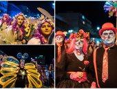 المقدونيون يحتفلون بكرنفال الصوم المسيحى الأرثوذكسى بأقنعة الأشباح