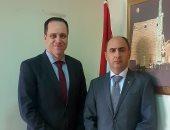 رئيس هيئة تنشيط السياحة يلتقى سفير أوكرانيا لبحث التعاون المشترك